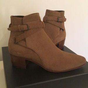 Brand new Saint Laurent Blake 40 Jodhpur boots